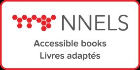 NNELS logo -- subtitle: accessible books / livres adaptes